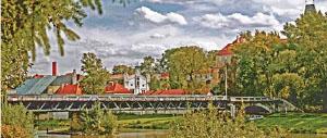 Most v Brandýse